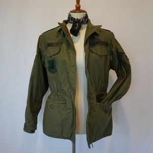 1960s Womens Airforce Utility Jacket